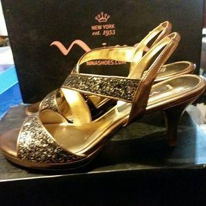 Nina Women's Newark Lower Heel Sandals